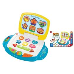 MG TOYS Εκπαιδευτικά MY BABY LAPTOP 401013 5204275401134