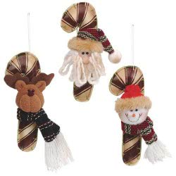 Christakopoulos Χριστουγεννιάτικο Μπαστούνι Δερματίνη Φι 4517 231670045170