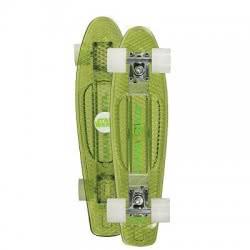 POWERSLIDE Τροχοσανίδα Star Wars Darth Juicy με φωτάκια - Πράσινο 17.901567