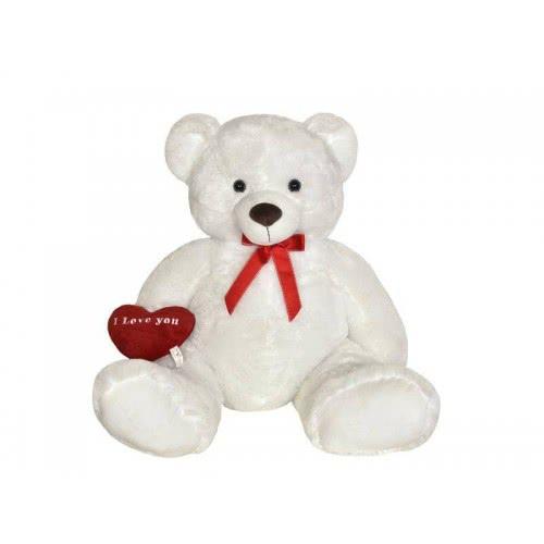 Christakopoulos Λούτρινη Αρκούδα 100εκ με Καρδιά 2865V 5202200000131