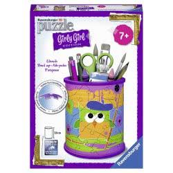 Ravensburger 3D Puzzle 54 pcs Pencil Case Owls 80183 4005556801831