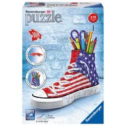 Ravensburger 3D Puzzle 108 Pcs Sneaker American Frag 12549 4005556125494