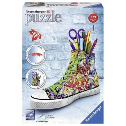 Ravensburger Candle 3D Puzzle 108 Pcs Sneaker Graffiti 12535 4005556125357