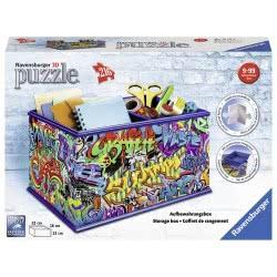 Ravensburger 3D Puzzle 216 Pcs Storage Box Graffiti 12111 4005556121113