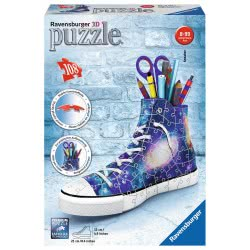 Ravensburger 3D Puzzle 108 Τεμ. Sneaker Galaxy 11219 4005556112197