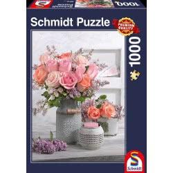 Schmidt Schimdt Παζλ 1000 Τριαντάφυλλα 58314 4001504583149