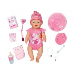 Zapf Creation Baby Born Annabell Διαδραστική Κούκλα 43Εκ. ZF822005 4001167822005