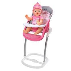 Zapf Creation Baby Born High Chair ZF822272 4001167822272