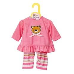 Zapf Creation Baby Born Dolly Moda Ροζ Πυζάμες ZF870075 4001167870075