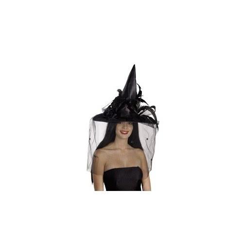 CLOWN Καπέλο Μάγισσας Dlx Με Φτερά 2 Χρώματα 70701 5203359707018
