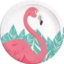 PROCOS Πιάτα Μεγάλα Flamingo 23cm - 8τμχ 086592 5201184895924