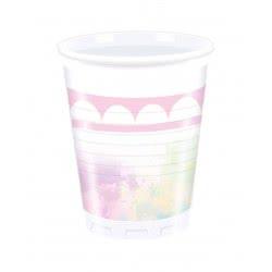 PROCOS Believe in Unicorns Plastic Cups 200ml - 8pcs 089341 5201184893418