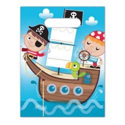 PROCOS Σακούλες Δώρων Μικροί Πειρατές - 6Τμχ 088254 5201184882542