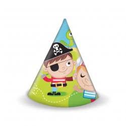 PROCOS Καπελάκια Μικροί Πειρατές - 6Τμχ 088257 5201184882573