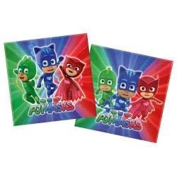 PROCOS PJ Masks Two-ply Paper Napkins 33x33cm - 20pcs 088633 5201184886335