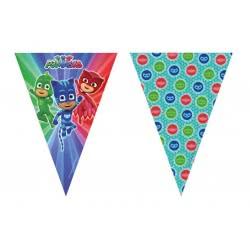 PROCOS Γιρλάντα Πιτζαμοήρωες με 9 Σημαιάκια 230 εκ. 088636 5201184886366