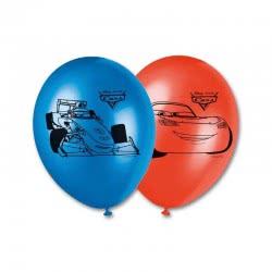 PROCOS Cars Balloons 28cm - 8pcs 084876 5201184848760