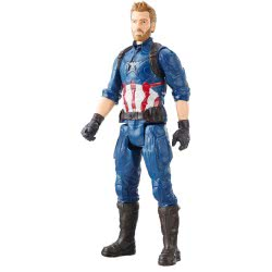 Hasbro Marvel Infinity War Titan Hero Series Captain America Power FX Φιγούρα Δράσης 30Εκ. E0570 / E1421 5010993461790