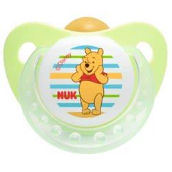 NUK Πιπίλα Trendline Disney Winnie καουτσούκ με κρίκο, μεγέθος 3 (18-36 μηνων) 10737604 4008600123415