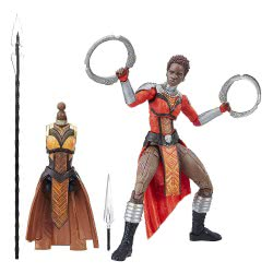 Hasbro Marvel Black Panther Legends Series Nakia Figure 15 Cm E1562 / E1574 5010993469918