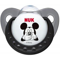 NUK Πιπίλα Σιλικόνη Mickey Μ2 2Bl 10735692 4008600142546