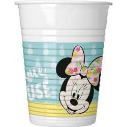 PROCOS Minnie Tropical Disney Plastic Cups 200ml - 8pcs 089231 5201184892312
