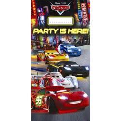 PROCOS Αφίσα Πόρτας Cars Neon Disney Πλαστική 152x76εκ. - 1τμχ 082635 5201184826355