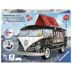 Ravensburger 3D Παζλ 162 Τεμ. Volkswagen Bus Καντίνα 12525 4005556125258