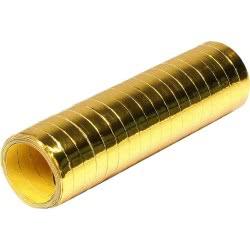 PROCOS Σερπαντίνα Μονόχρωμη Μεταλλική Χρυσή - 1τμχ 089183 5201184891834