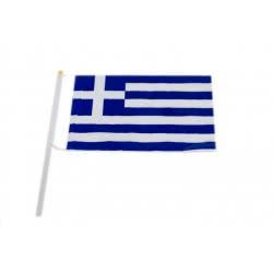 Argy Toys Σημαία Ελλάδος Πολυεστερικό με κοντάρι 00126-1 5202105201770