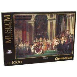 Clementoni Παζλ 1000 H.Q. Museum Η στέψη του Ναπολέοντα 1260-31416 8005125314164