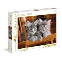 Clementoni Παζλ 500 H.Q. Γατούλες Kittens 1220-30545 8005125305452