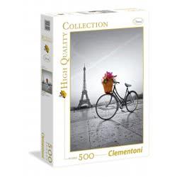 Clementoni Παζλ 500 H.Q. Romantic Promenade In Paris 1220-35014 8005125350148