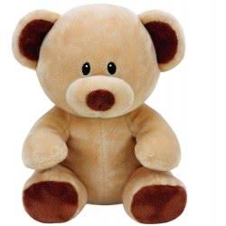ty Beanie Boos Βρεφικό Χνουδωτό Αρκουδάκι Καφέ 23 Εκ. 1607-82002 008421820023