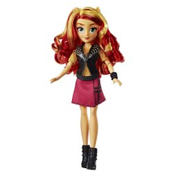 Hasbro My Little Pony Equestria Girls Sunset Shimmer Classic Style Doll E0348 / E0631 5010993468706