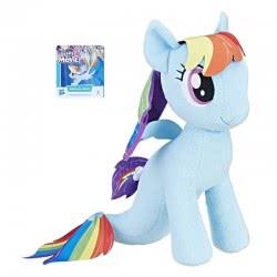 Hasbro My Little Pony Rainbow Dash Mermaid Cuddly Plush Λούτρινο 33Εκ. B9817 / C2965 5010993395149