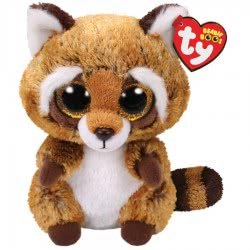 ty Beanie Boos Χνουδωτό Ρακούν Καφέ 15 εκ. 1607-36941 008421369416