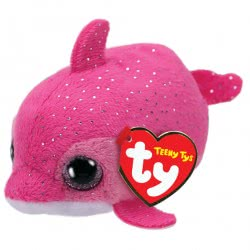 ty Beanie Boos Χνουδωτό Δελφίνι Ροζ 4.5 Εκ. 1607-42314 008421423149