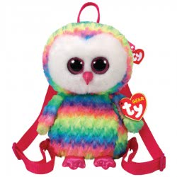As company TY Beanie Boos Χνουδωτό Τσαντάκι Πλάτης Owen 1607-95003 008421950034