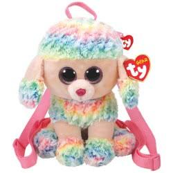 As company TY Beanie Boos Plush Rucksack Rainbow 1607-95005 008421950058