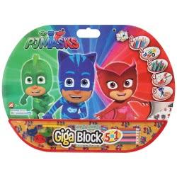 As company Pj Masks Σετ Ζωγραφικής Giga Block 5 σε 1 1023-62711 5203068627119