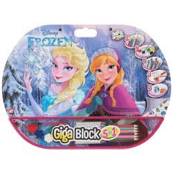 As company Disney Frozen Σετ Ζωγραφικής Giga Block 5 Σε 1 (62713) 1023-62713 5203068627133