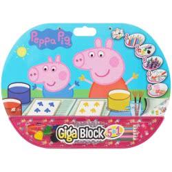 As company Peppa Pig Σετ Ζωγραφικής Giga Block 5 Σε 1 (62714) 1023-62714 5203068627140