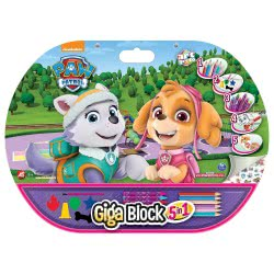 As company Paw Patrol Skye Activity Set Giga Block 5 In 1 1023-62715 5203068627157
