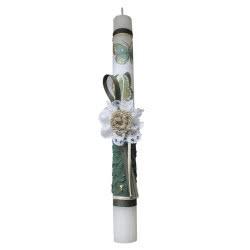 Λαμπάδες Decor Λαμπάδα Λουλούδι Δαντέλα 18-915 5202200000629