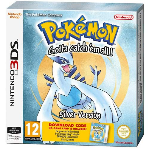 Nintendo 3DS Pokemon Silver (Digital)  045496475987