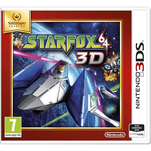 Nintendo 3DS Star Fox 64 Selects  045496528775