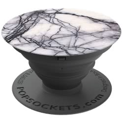 Popsockets Grip White Marble για όλα τα κινητά 101178 815373021374