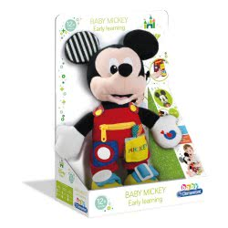 Clementoni baby Baby Clementoni Disney Baby Mickey Εκπαιδευτικό Χνουδωτό 1000-17224 8005125172245
