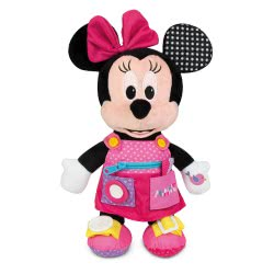 Clementoni baby Disney Baby Early Learning Plush Minnie 1000-17225 8005125172252